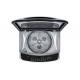 LG Washing Machine Topload 12 KG Direct Drive Smart Inverter Motor Silver T1288NEHGE