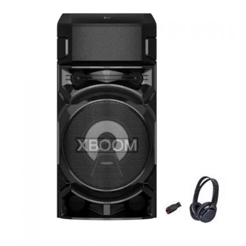 LG XBOOM Audio System with Bluetooth and Bass Blast Black RN5