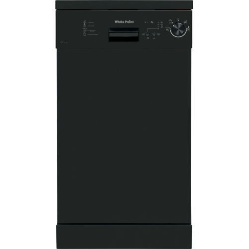 White Point Dishwasher 10 Set Black WPD104 B