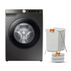 Samsung Washing Machine 9KG 1400RPM Digital Inverter Eco Bubble Wi-Fi Steam Inox WW90T534DAN1AS