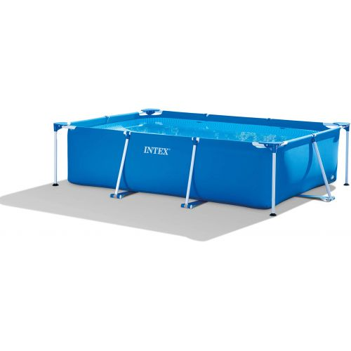 Intex Rectangular Frame Swimming Pool 300*200*75 cm Blue IX-28272