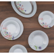 Luminarc Ambiente Rozana Trefle 19 Piece Dinner Set N2170