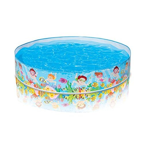 Intex Inflatable Kids Pool 152*25 cm Multi Color IX-56451