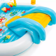 Intex CHILDREN'S INFLATABLE CENTER WITH A SLIDE FISHING 2.18 m*1.88 m*99 cm IX-57162