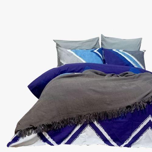 Family Bed Set 4 Pieces Becca Cotton Multi Color B_02