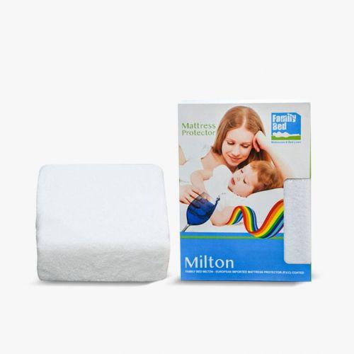Family Bed PVC Milton Mattress Cover 120*200*33 cm White PVC_01200