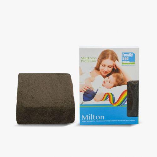 Family Bed PVC Milton Mattress Cover 100*200*33 cm Brown PVC_0100
