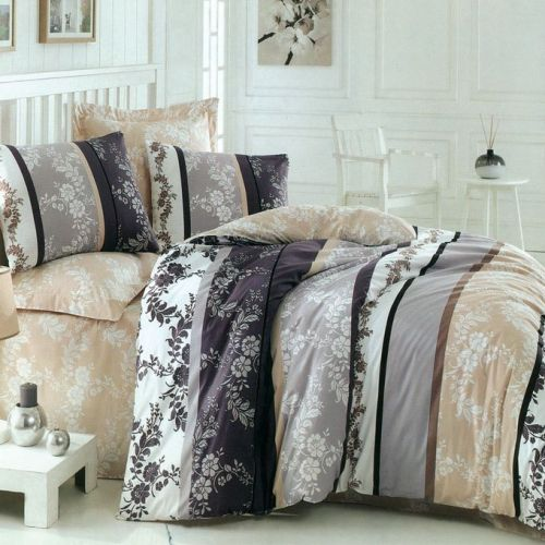 Family Bed Cover Set Cotton Touch 3 Pieces Multi Color CTC_122