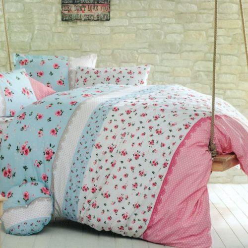 Family Bed Cover Set Cotton 100% 3 Pieces Multi Color CC_1009