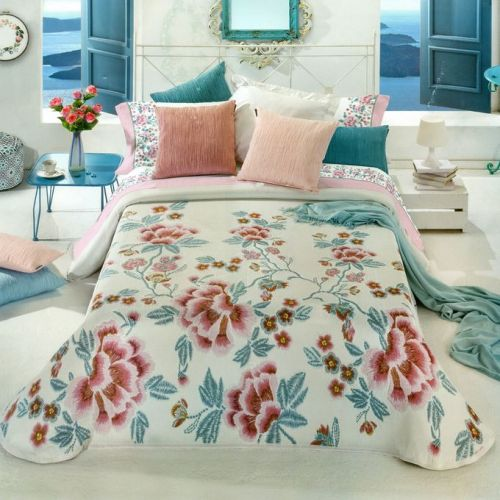 Family Bed Comforter Set 3 Pieces Bed Spanish CS_226