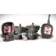 SAFLON Kitchen Pot Set 10 Pieces Granite Grey S-8797