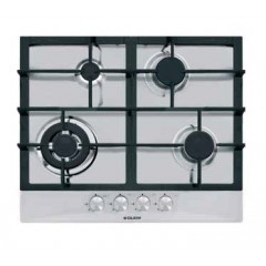 Glem Gas Hob 4 Gas Burners 60cm Stainless Steel: GT685HIX