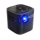 PIQO Smart Mini Projector Review A 1080P 240 Inch Image With A Light Intensity Of 200 Lumens Black PI-853387008301