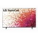 LG TV 55 Inch NanoCell 4K UHD HDR WebOS Smart 55NANO75VPA