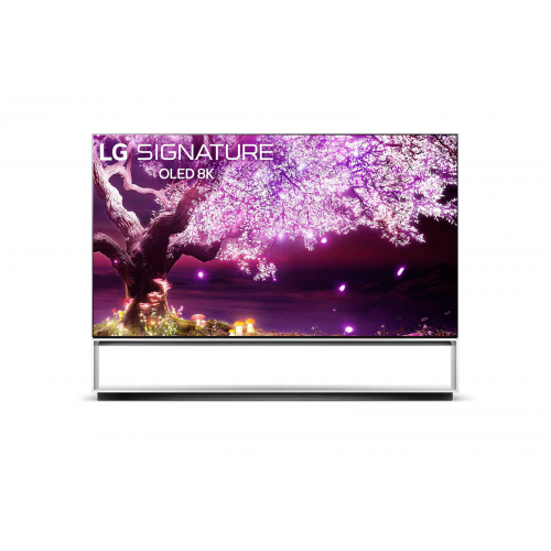 LG OLED TV 88 Inch Z1 Series Signature Design 8K Cinema HDR WebOS Smart AI ThinQ Pixel Dimming OLED88Z1PVA