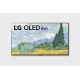 LG OLED TV 77 Inch G1 Series Gallery Design 4K Cinema HDR WebOS Smart AI ThinQ Pixel Dimming OLED77G1PVA