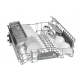 Bosch Dishwasher 12 Set Digital Screen Stainless Steel SMS45DI10Q