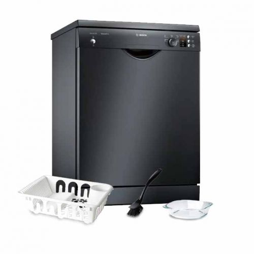Bosch Dishwasher 12 Set Screen Black: SMS25AB00G