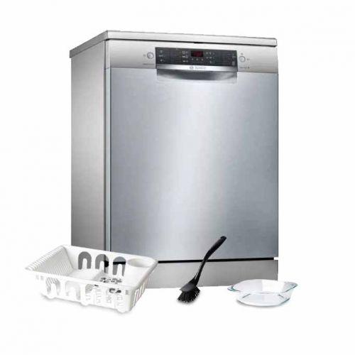 Bosch Dishwasher 14 Set Digital Screen Stainless: SMS46II08E