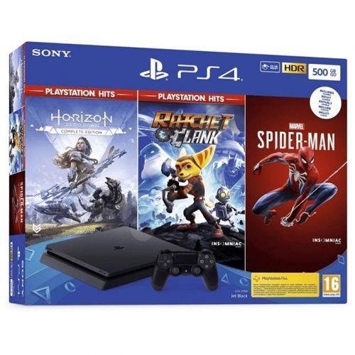 Sony Playstation 4 Slim 500 GB With Controller Black PlayStation 4 Slim 500GB
