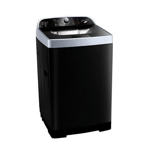Premium Washing Machine Double Wash Top Loading 10 KG Handy Control Metal Black PRM130TPL-C2MBK