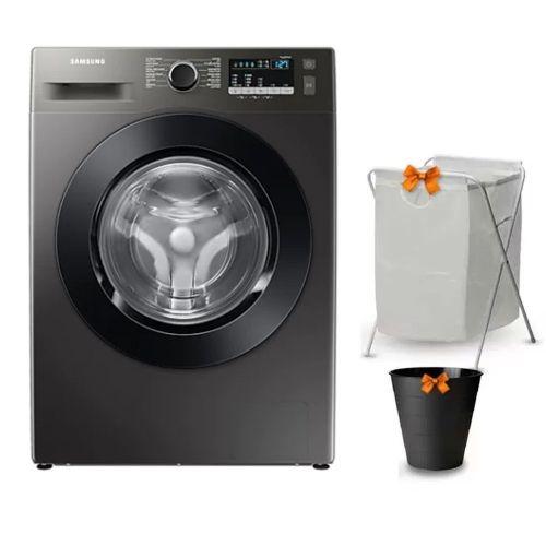 Samsung Washing Machine 8KG 1200RPM Digital Inverter With Steam Inox WW80T4020CX1AS