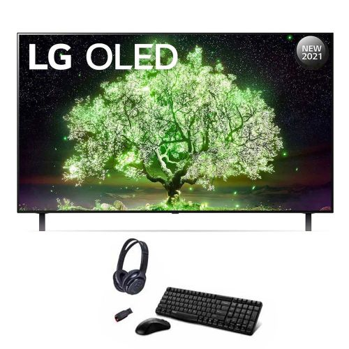 LG OLED TV 65 Inch A1 Series Cinema Screen Design 4K Cinema HDR WebOS Smart AI ThinQ Pixel Dimming OLED65A1PVA