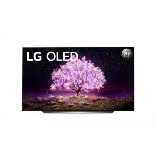 LG OLED TV 83 Inch C1 Series Cinema Screen Design 4K Cinema HDR WebOS Smart AI ThinQ Pixel Dimming OLED83C1PVA