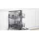 Bosch Built-in Dishwasher 12 place 60 cm SMV25DX00T