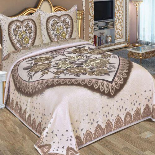 Family Bed Joplan Comforter Set 4 Pieces 240*240 Multi Color J_310