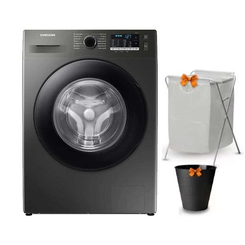 Samsung Washing Machine 7KG 1200RPM Digital Inverter With Steam Inox WW70T4020CX1AS