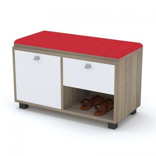 Artistico Shoe Storage 80*38*50 cm With Seating Unit ASC-80R2
