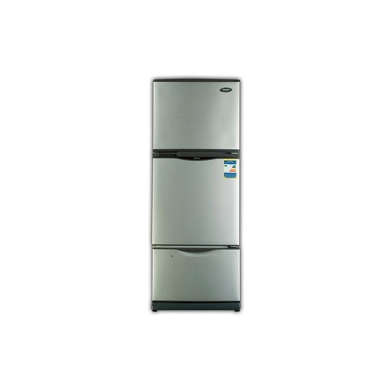 Toshiba refrigerator 16 feet no frost 3 door silver gr efv45 toshiba refrigerator no frost 16 feet 3 door silver gr efv45 asfbconference2016 Image collections
