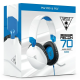 Turtle Beach Stereo Gaming Headset For PlayStation Ps4 Xbox Series PC Mobile White Recon 70P