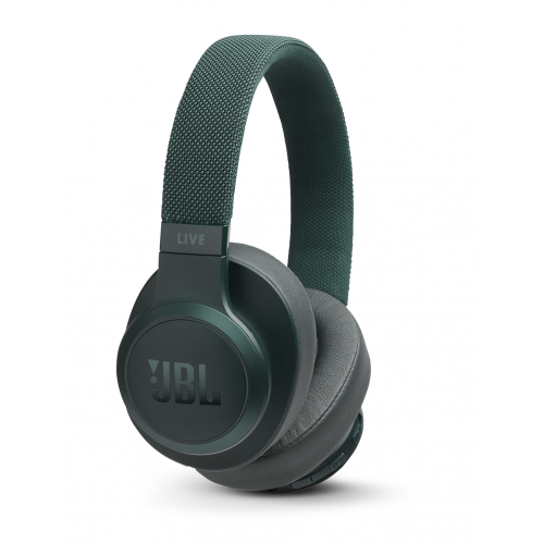 JBL Wireless On Ear Headphones with Voice Control Green LIVE500BT