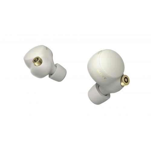 SONY Wireless Earbuds Noise Cancelling Silver Color WF-1000XM4-SL