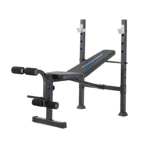 PRO-FORM Standard Bench Rack With a Weight Capacity Of Up to 136 kg Black PFBE11420