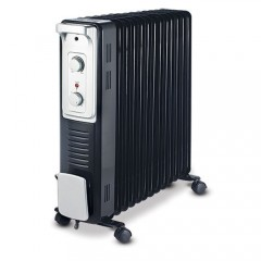 Tornado Heater Oil filled radiator 13 fins With turbo fan TOH-13F