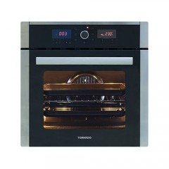 Tornado Electric Oven 60Liters Digital Timer and Digital Control With Grill and Fan: OV60EDFFS-3