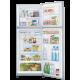 White Whale Refrigerators 14 Feet 400 Liter Silver: WRF-4055HT SLS