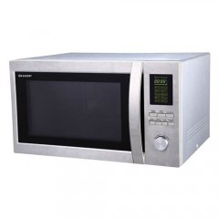 Sharp Microwave 43 Liter With Grill Silver: R-78BR ST