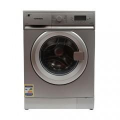 Tornado Washing Machine 8KG 1200 Spin Silver: TWFL8-V12S