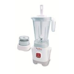 Moulinex Blender 400 Watt 1.25 Liter With Grinder: LM2411EG