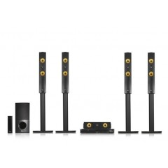 LG BLU-RAY HOME THEATRE SYSTEM 1200 WATT WIRELESS REAR SPEAKERS: LHB755W
