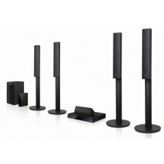LG Blu-Ray HOME THEATRE SYSTEM 1000W 3D WIRELESS REAR SPEAKERS: LHB655W