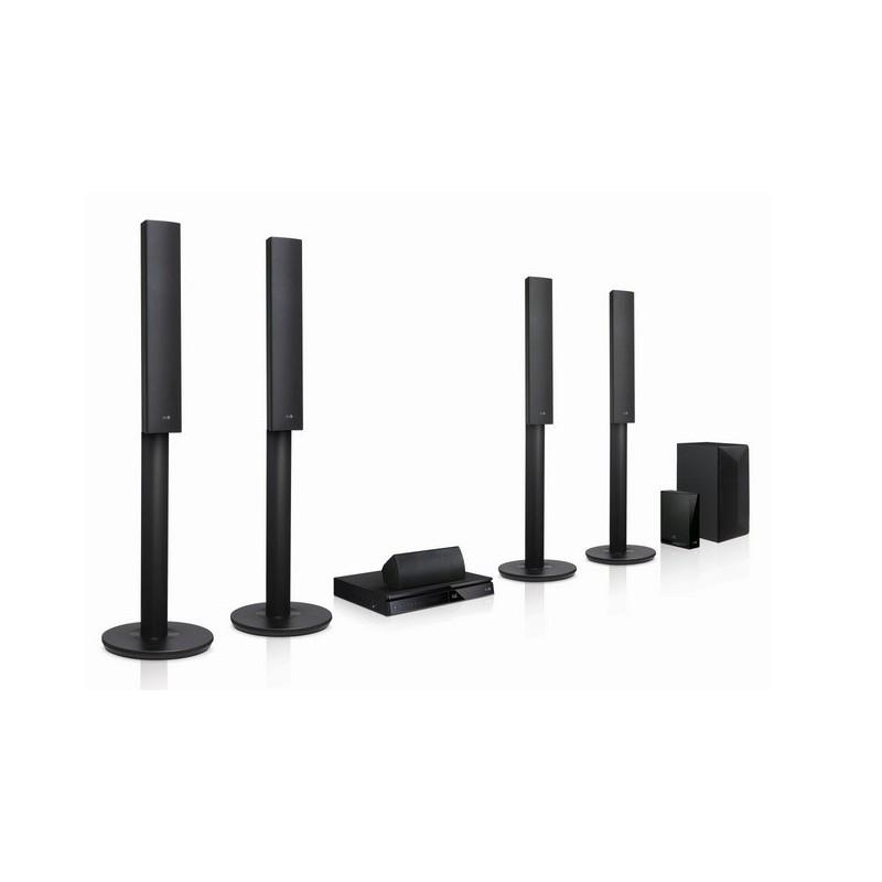 Lg Surround Sound System With Wireless Rear Speakers Round Designs