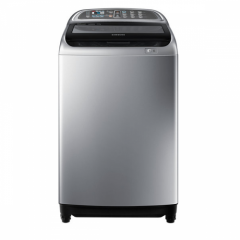 Samsung Washing Machine 18 KG Topload Silver with Dualwash WA18J6750SP