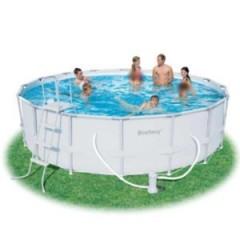 بيست واي حمام سباحة دائري بالحواف العالية cm 549 x 132 POOL 56232