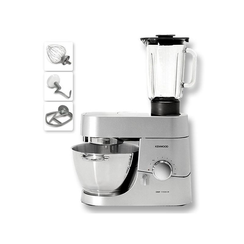Kenwood Kitchen Machine Titanium Major 6 7 Liter 1500 Watt