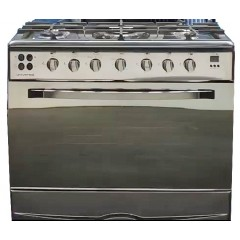 Universal Iron Cooker 90*60 5 Burners Iron Cast Safety And Fan: t-75 9605